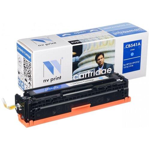 Фото - Картридж NV Print CB541A/716 Cyan для HP и Canon, совместимый картридж sakura cb541a 716c совместимый