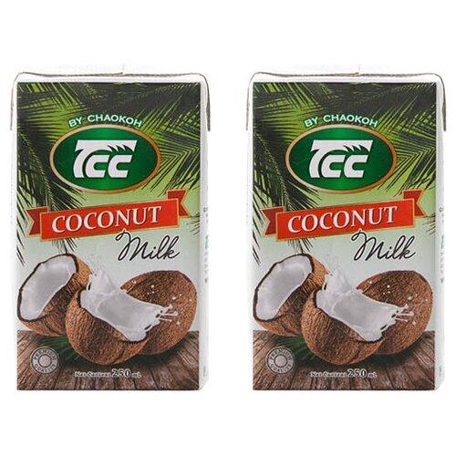 Молоко кокосовое Chaokoh Coconut milk 18.9%, 250 мл, 2 шт.