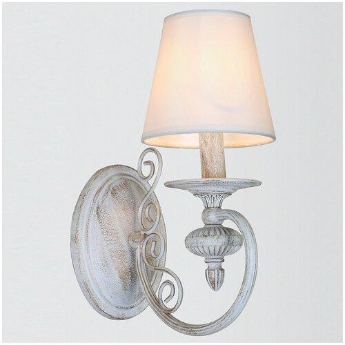 Фото - Настенный светильник Rivoli Filomena A1 WG, E14, 40 Вт настенный светильник rivoli adro б0044775 40 вт