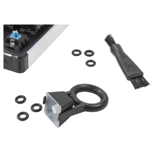 Набор для обслуживания механической клавиатуры QCyber Q-RING (приспособление для снятия клавиш, щеточки и демпфирующие кольца)