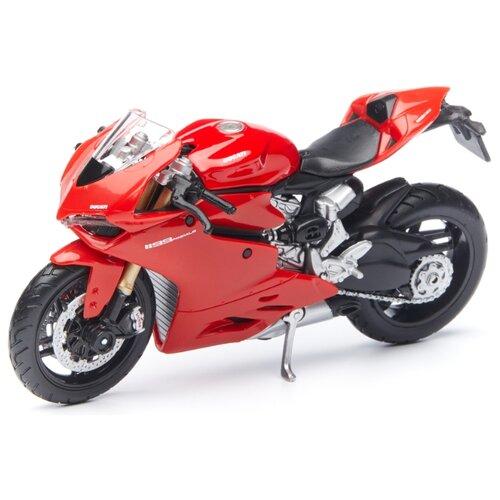 Фото - Мотоцикл Maisto Ducati 1199 Panigale (39300/22) 1:18 красный олег капкаев ducati 1199 panigale модельный ряд