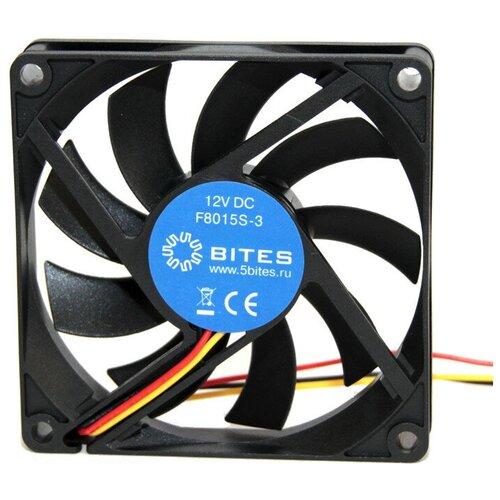 Вентилятор для корпуса 5bites F8015S-3 черный 1 шт. вентилятор для корпуса 5bites f6010s 3