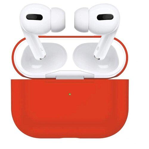 Чехол для Apple AirPods Pro силиконовый InnoZone - Красный (APP-20C-M-06)