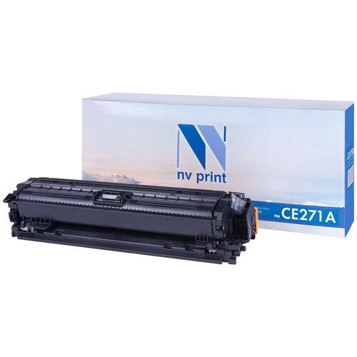 Картридж NV Print CE271A для HP, совместимый картридж nv print cf411a для hp совместимый