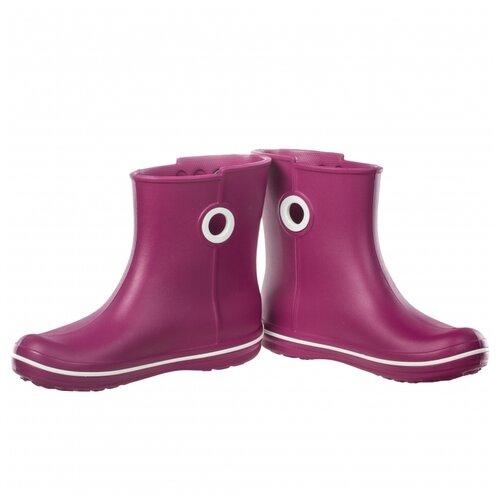 Резиновые сапоги Crocs Women's Jaunt Shorty Boot, размер 35(W5), berry