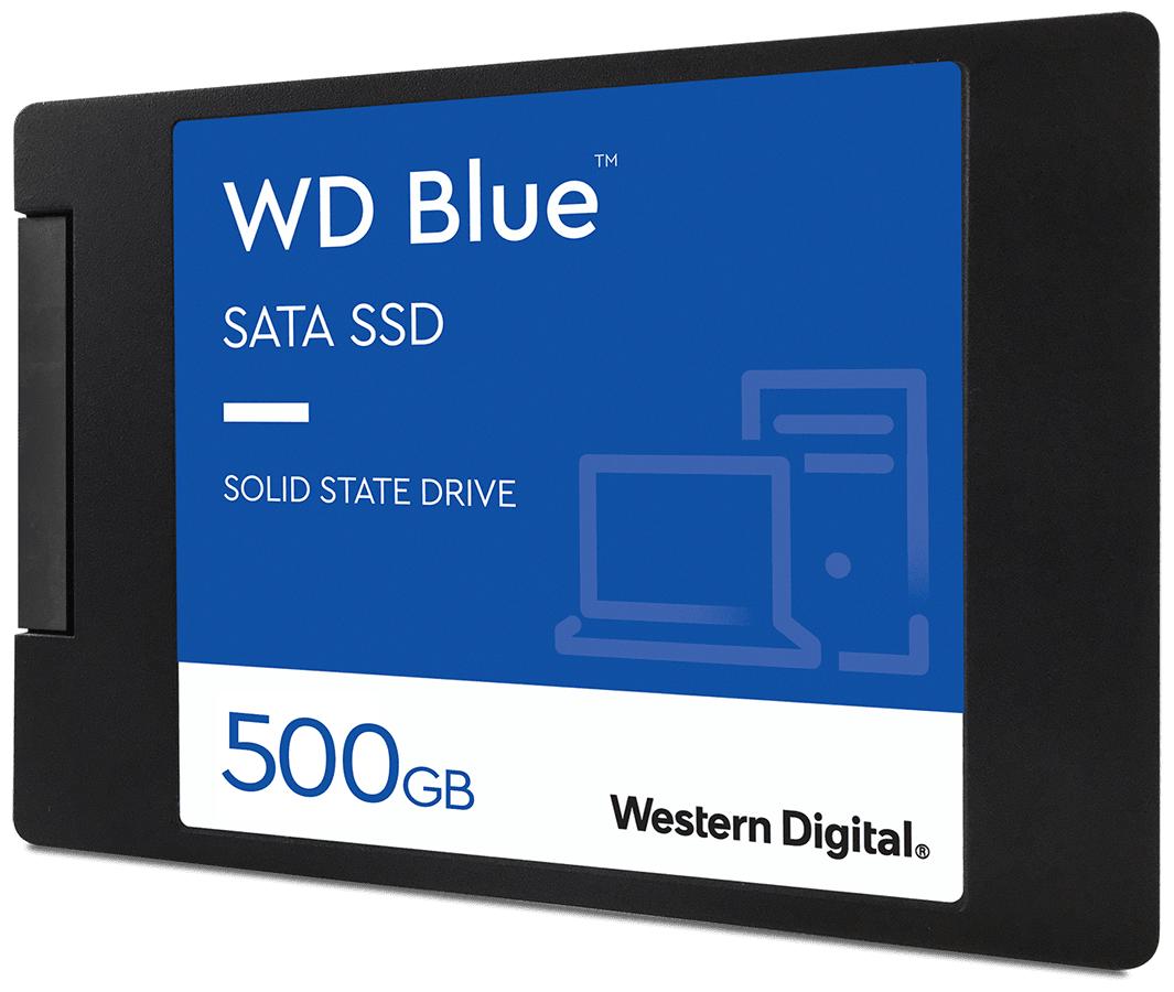 Твердотельный накопитель Western Digital WD Blue SATA 500 GB WDS500G2B0A — купить по выгодной цене на Яндекс.Маркете