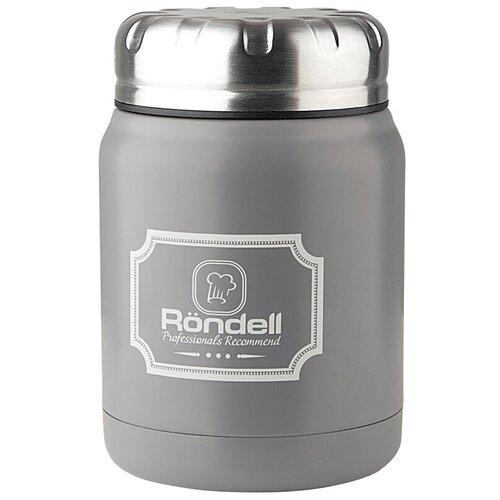 Термос для еды Rondell Picnic, 0.5 л серый