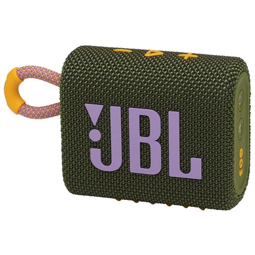 Фото - Портативная акустика JBL GO 3, green портативная акустика jbl clip 3 green