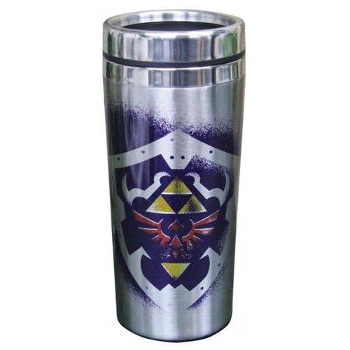 Термокружка Paladone Links Travel Mug, 0.3 л серебристый/синий