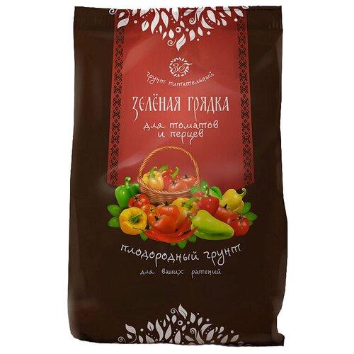 Фото - Грунт Зеленая Грядка питательный для томатов и перцев 10 л грунт veltorf premium для томатов и перцев 10 л