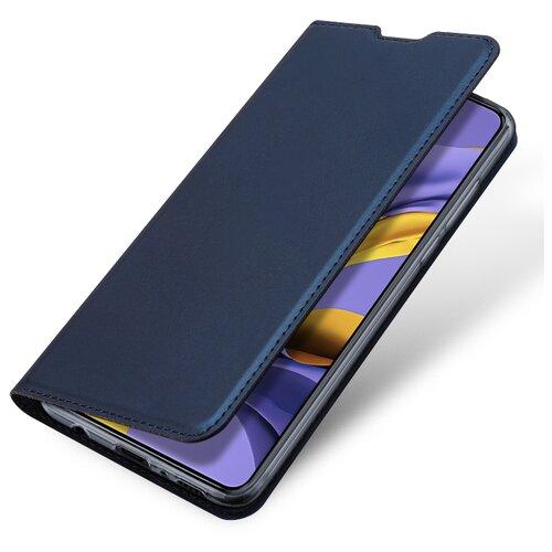 Чехол книжка Dux Ducis для Xiaomi Redmi Note 9T / Note 9 5G, Skin Series, синий