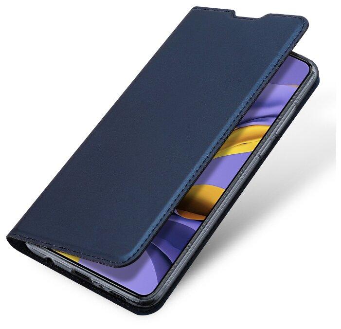 Купить Чехол книжка Dux Ducis для Samsung Galaxy M30S / M21, Skin Pro, синий по низкой цене с доставкой из Яндекс.Маркета