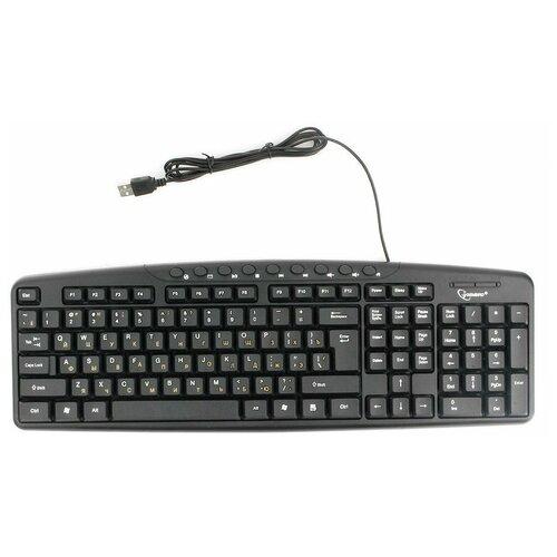 Клавиатура Gembird KB-8340UM-BL Black USB