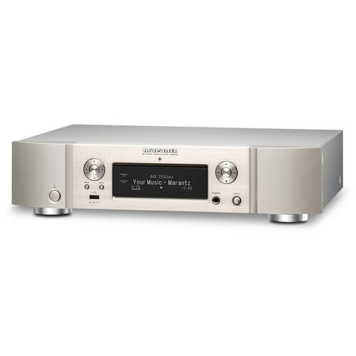 Фото - Сетевой аудиоплеер Marantz NA6006, серебристо-золотистый сетевой аудиоплеер audiolab 6000n play silver