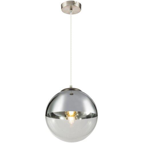 Светильник Globo Lighting Varus 15853, E27, 40 Вт, кол-во ламп: 1 шт., цвет арматуры: никель