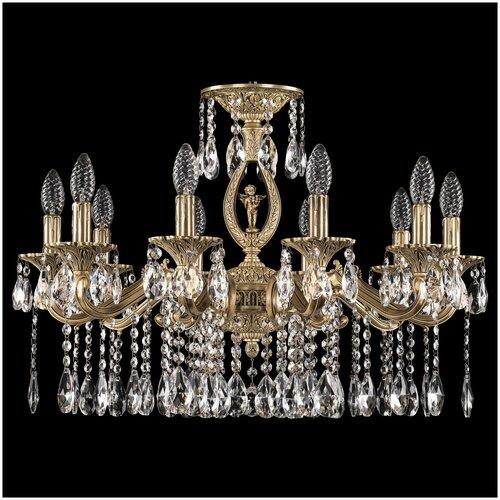 Фото - Люстра Bohemia Ivele Crystal 72402/10/210 A FP FA10S, E14, 400 Вт люстра bohemia ivele crystal 72402 10 250 a fp fh1m e14 400 вт
