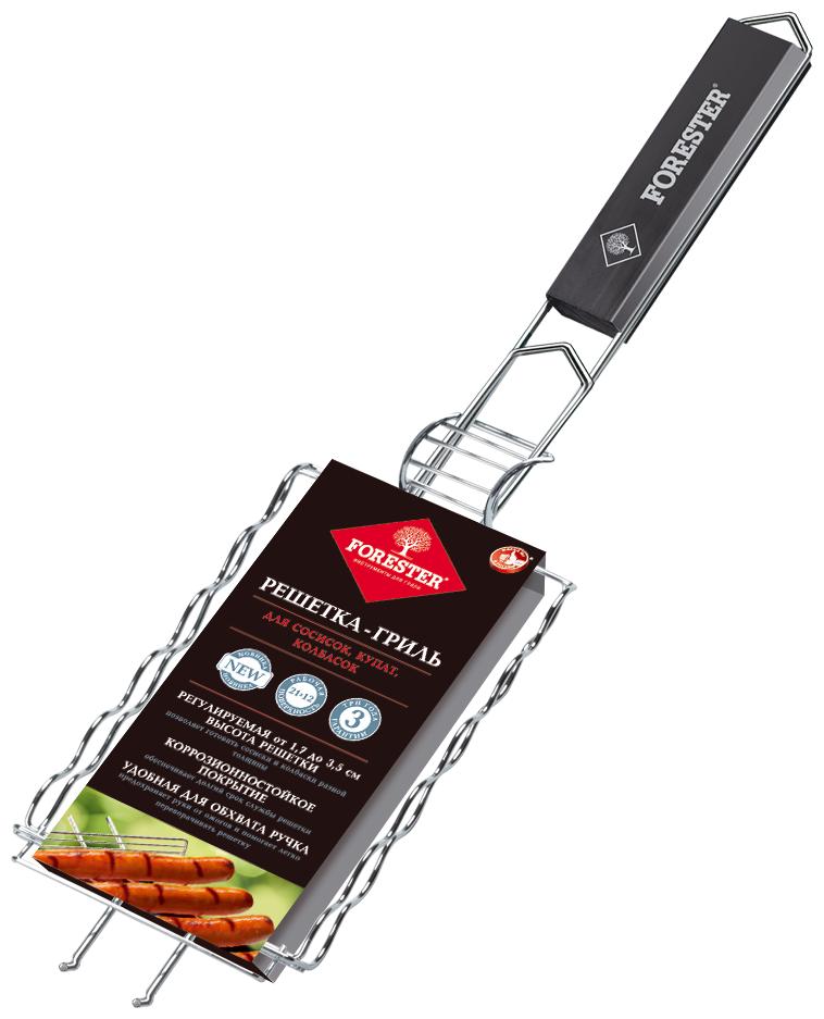 Решетка Forester BQ-N16 для сосисок, колбасок, шпикачек, 21х12 см