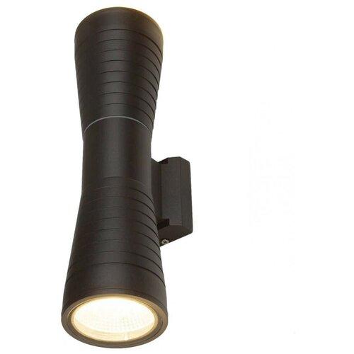 Elektrostandard Уличный настенный светодиодный светильник 1502 Techno LED черный бра elektrostandard 1585 techno led arkada черный