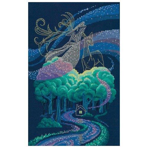 Фото - Золотые Ручки Набор для вышивания Сияние любви 22 x 33 см (ЗХ-006) алиса набор для вышивания тюльпаны малиновое сияние 22 x 26 см 2 43