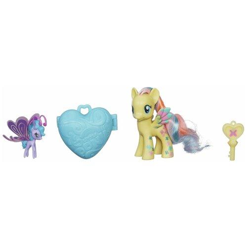 Фото - Игровой набор My Little Pony Fluttershy с сердечком A8742 набор для детского творчества набор д вышивания гладью my little pony