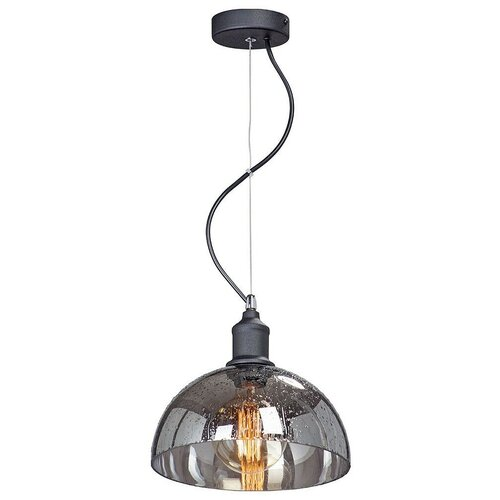 Фото - Светильник Vitaluce V4851-1/1S, E27, 40 Вт, кол-во ламп: 1 шт., цвет арматуры: черный, цвет плафона: серый светильник vitaluce v4849 1 1s e27 40 вт