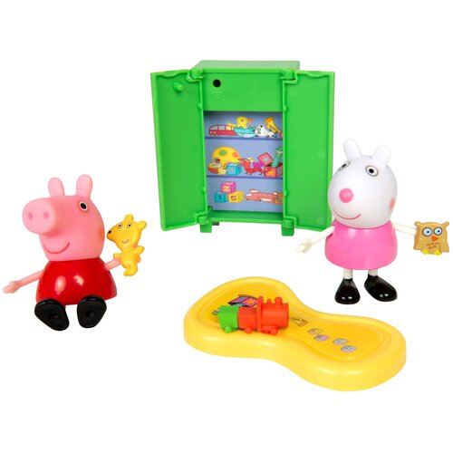 Купить Игровой набор Intertoy Peppa Pig Пеппа и Сьюзи играют в игры 35355, Игровые наборы и фигурки