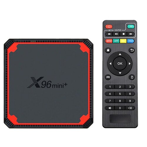 Фото - IPTV приставка Booox X96 Mini+ 2/16Gb медиаплеер mxq x96 mini 1gb 8gb