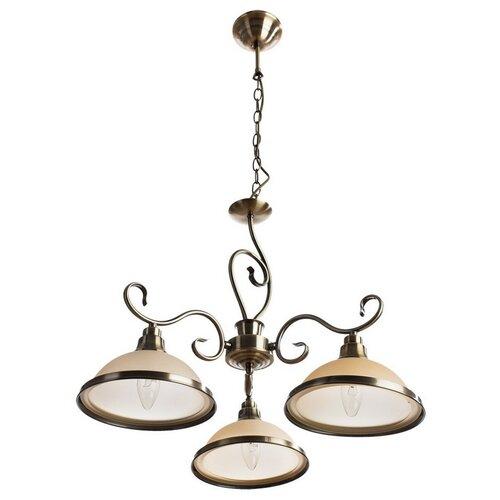 Люстра Arte Lamp Safari A6905LM-3AB, E27, 180 Вт подвесная люстра arte lamp a6905lm 3ab