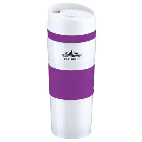 Термокружка Peterhof PH-12418, 0.4 л фиолетовый