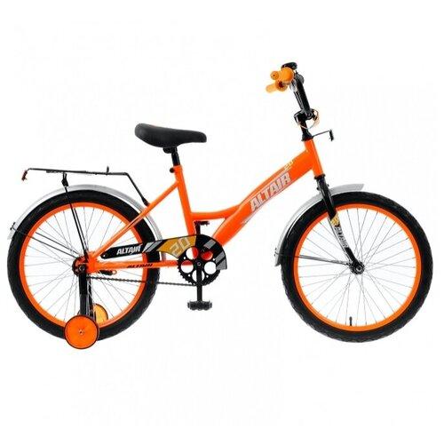 """Детский велосипед ALTAIR Kids 20 (2020) оранжевый/белый 13"""" (требует финальной сборки)"""