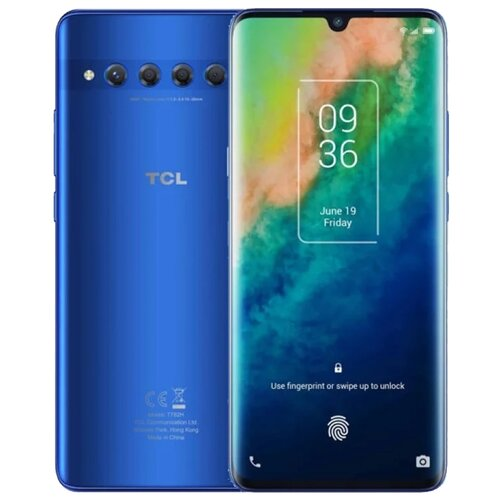 Смартфон TCL 10 Plus 6/256GB Moonlight Blue