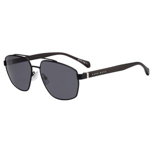 Фото - Солнцезащитные очки мужские HUGO BOSS BOSS 1118/S,MTT BLACK boss hugo boss сумка для мам