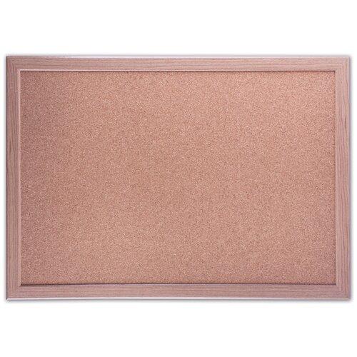 Доска пробковая BRAUBERG 231990 34.2х48.4 см, коричневый