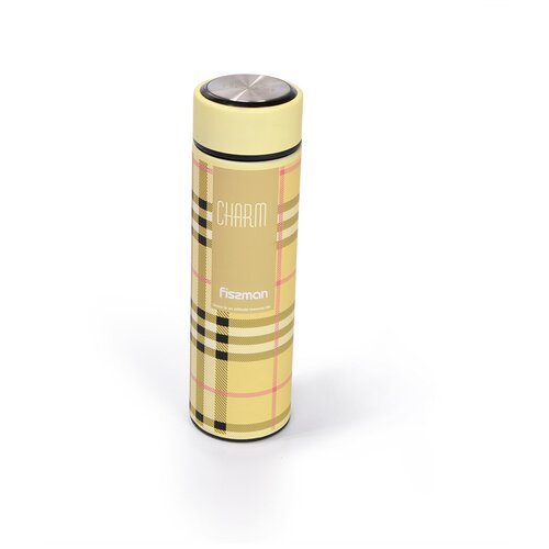 Классический термос Fissman 9749, 0.5 л бежевый