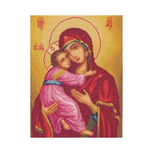 Купить Набор для вышивания «Panna» ЦМ-1323 Икона Божией Матери Владимирская, Наборы для вышивания