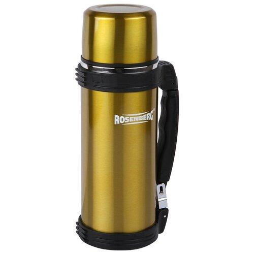 Классический термос ROSENBERG RSS-420012, 1 л золотистый