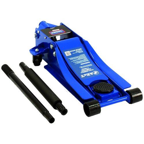 Домкрат подкатной гидравлический AE&T T31513 (3 т) синий по цене 13 956