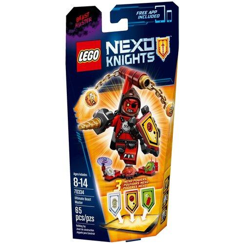 Купить Конструктор LEGO Nexo Knights 70334 Абсолютная сила Хозяина Тварей, Конструкторы