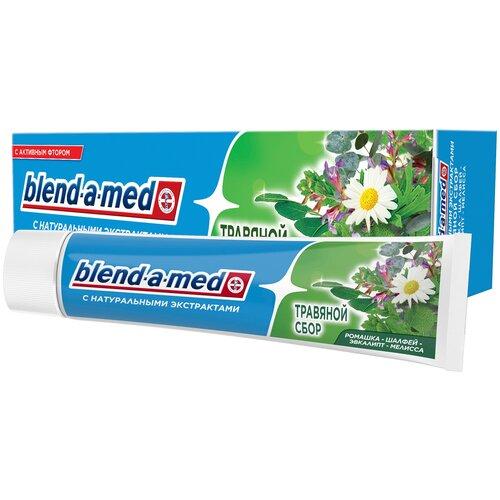 Фото - Зубная паста Blend-a-med Травяной сбор, 100 мл зубная паста blend a med экстра свежесть 100 мл