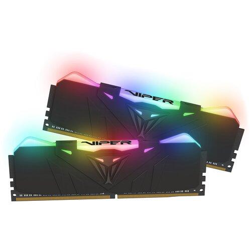 Фото - Оперативная память Patriot Memory VIPER RGB 16GB (8GBx2) DDR4 4000MHz DIMM 288-pin CL19 PVR416G400C9K оперативная память patriot memory viper rgb 16gb 8gbx2 ddr4 4133mhz dimm 288 pin cl19 pvr416g413c9k