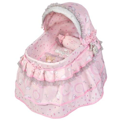 Купить 51134 Кроватка для куклы с козырьком серии Мария, 46см, DeCuevas, Мебель для кукол