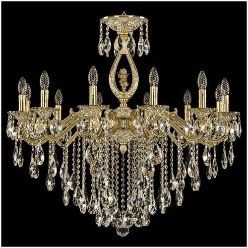 Люстра Bohemia Ivele Crystal 72402/12/300 B GW FA3B, E14, 480 Вт люстра bohemia ivele crystal 1771 12 340a gw