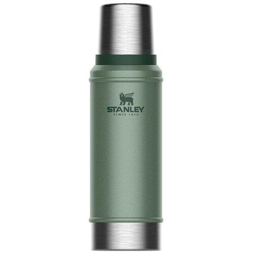 Классический термос STANLEY Classic, 0.75 л зеленый