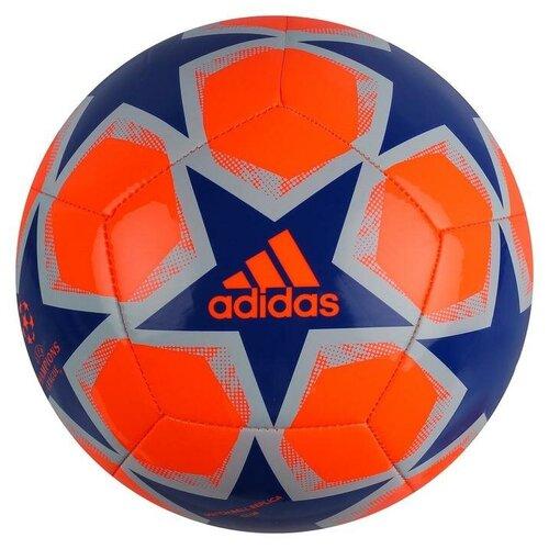 Футбольный мяч adidas Finale 20 Club оранжевый/синий 4
