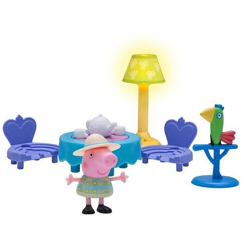 Купить Игровой набор Intertoy Peppa Pig Пеппа и чайная церемония 35357, Игровые наборы и фигурки