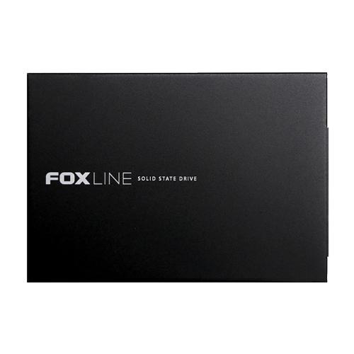 "Foxline 256GB SSD 2.5"" 3D TLC, metal case"