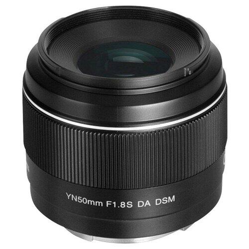 Объектив YongNuo 50mm f/1.8 Sony DA DSM черный