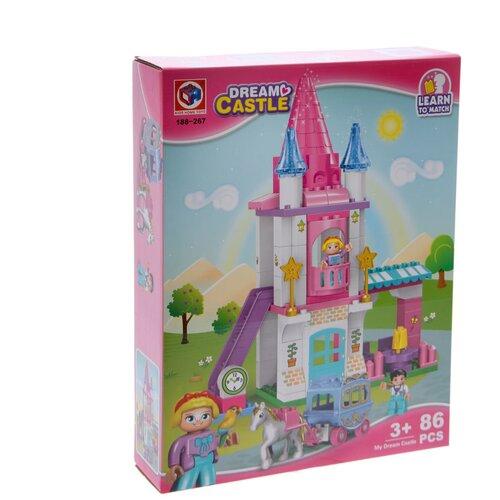Конструктор Kids home toys Dream Castle 188-267 Замок мечты конструктор kids home toys happy farm 188 133