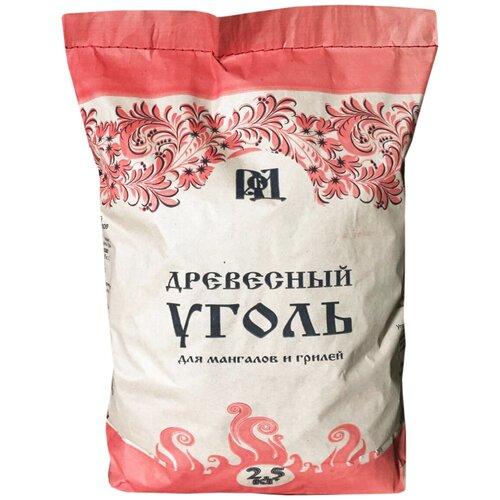 Русский Банный Дом уголь березовый Премиум 2,5 кг