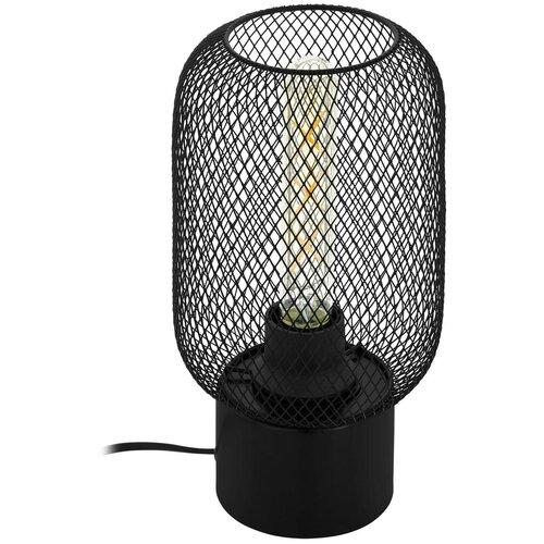 Фото - Настольная лампа Eglo Wrington 43096, 60 Вт настольная лампа eglo montalbano 98381 60 вт